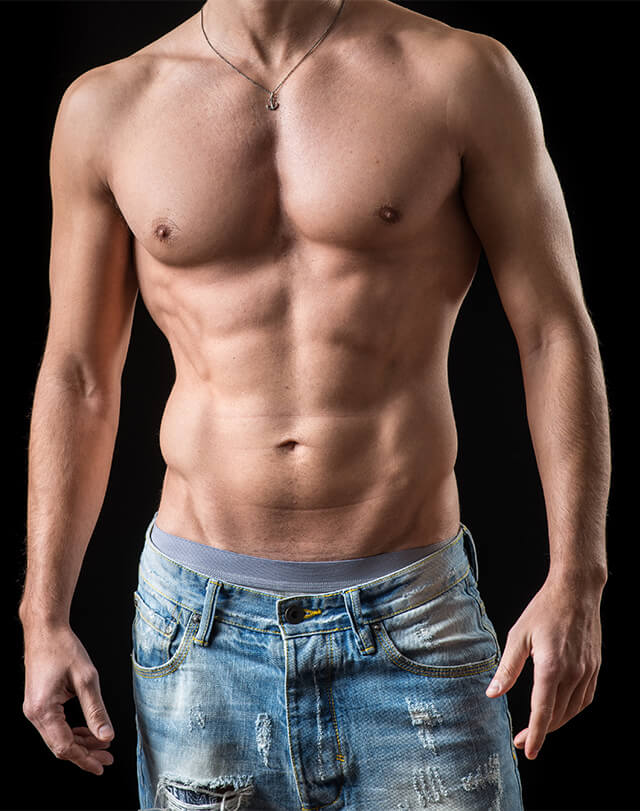 Umięśniony mężczyzna - Najnowsze trendy w medycynie estetycznej