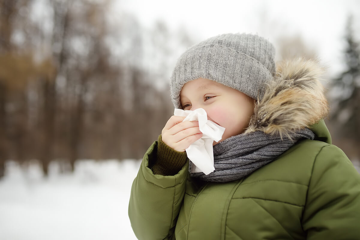 Alergia zimą. Na co jesteśmy uczuleni