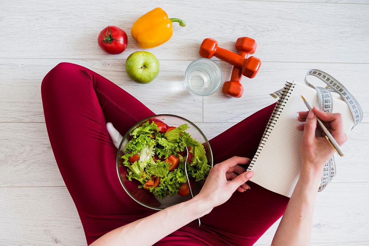 Dieta, ćwiczenia fizyczne i liczenie kalorii - Plastyka piersi - co z aktywnością fizyczną po zabiegu